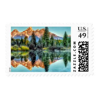 Schwabacher's Landing and Beaver Pond Postage