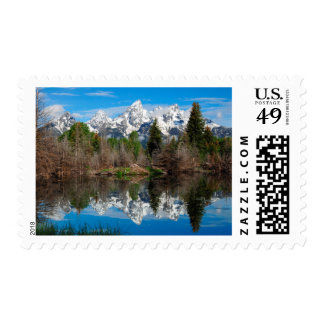 Schwabacher's Landing, Grand Teton Postage