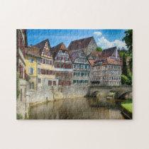 Schwabisch Hall Germany. Jigsaw Puzzle