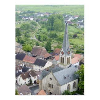 Schwabsburg Church Postcard