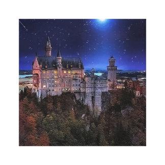 Schwangau, Alemania Impresión En Lienzo Estirada