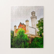 Schwangau  Castle Germany. Jigsaw Puzzle