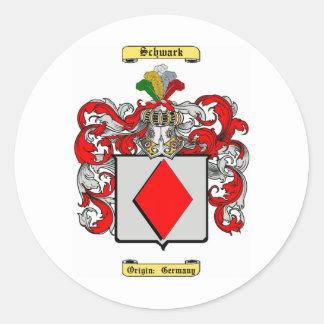 Schwark (schwerin) classic round sticker