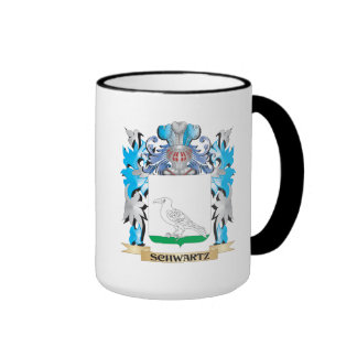 Schwartz Coat of Arms - Family Crest Ringer Coffee Mug