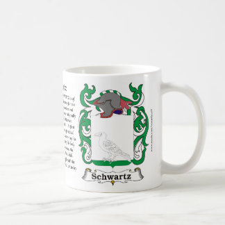Schwartz Family Coat of Arms Mug