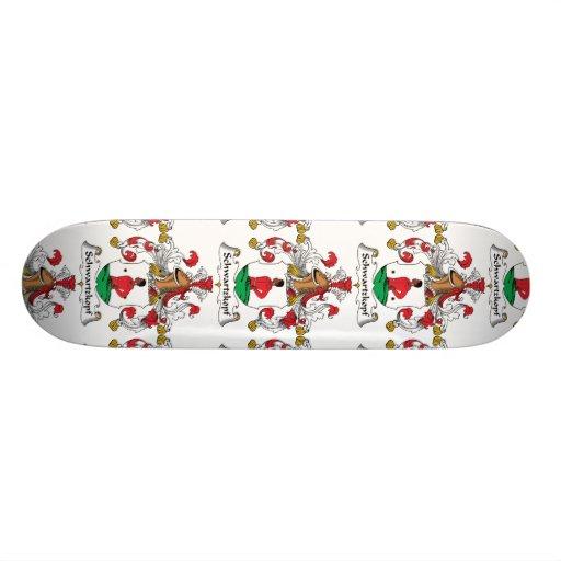 Schwartzkopf Family Crest Skate Board Decks