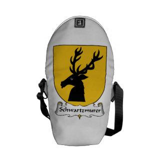 Schwartzmurer Family Crest Messenger Bags