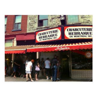 Schwartz's Deli, Montreal, Quebec Postcard
