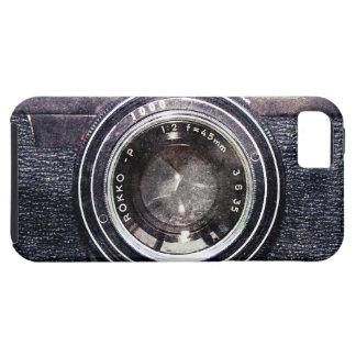 Schwarze Kamera de Alte iPhone 5 Funda
