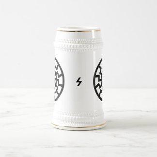 Schwarze Sonne Stein Coffee Mugs