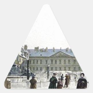 Schwarzenberg Palace by Rudolf von Alt Triangle Sticker