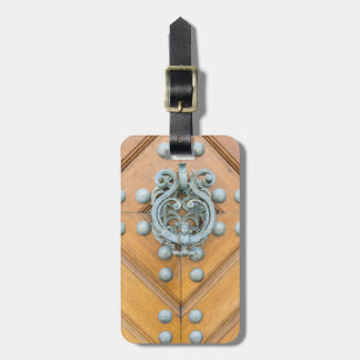 Schwarzenbersky Palace Door Knocker Luggage Tag