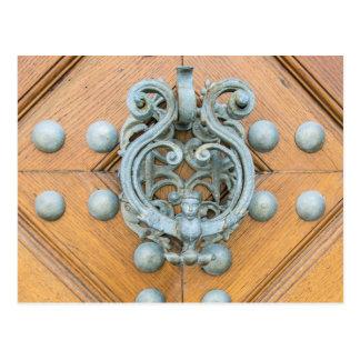 Schwarzenbersky Palace Door Knocker Postcard