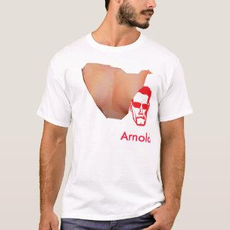Schwarzenegger a torn T-Shirt