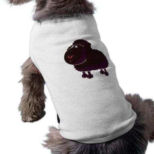 schwarzes Schaf black sheep Playera Sin Mangas Para Perro