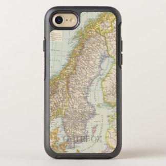 Schweden, Norwegen - Suecia y mapa de Noruega Funda OtterBox Symmetry Para iPhone 7