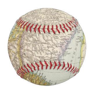 Schweden, Norwegen - Sweden and Norway Map Baseball
