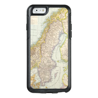 Schweden, Norwegen - Sweden and Norway Map OtterBox iPhone 6/6s Case