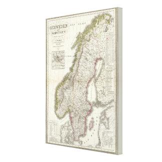 Schweden, Norwegen - Sweden, Norway Canvas Print