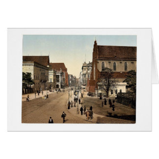 Schweidnitzer, Breslau, Silesia, Germany (i.e., Wr Greeting Card