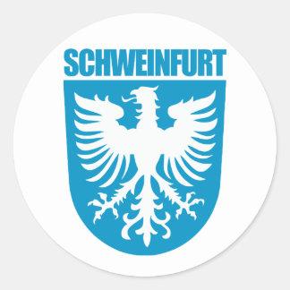 Schweinfurt Classic Round Sticker