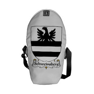 Schweinsberg Family Crest Courier Bag