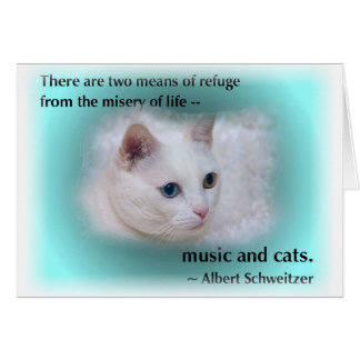 Schweitzer's Cat Card