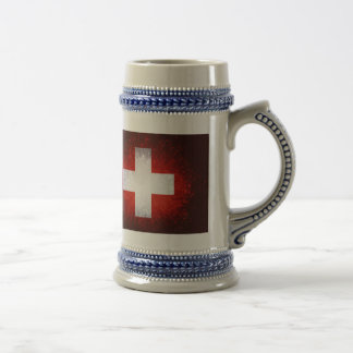 Schweiz; Bandera de Suiza Taza