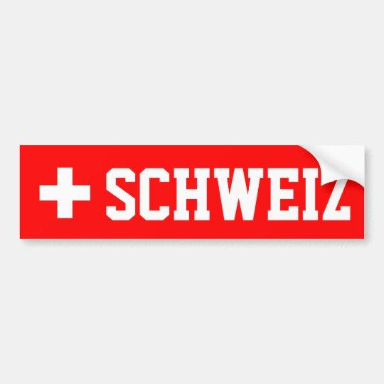 Schweiz Bumper Sticker
