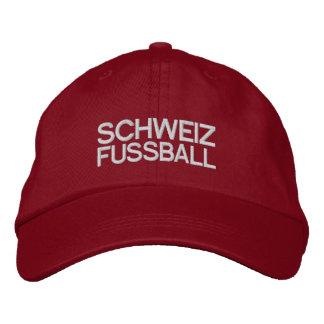 SCHWEIZ FUSSBALL EMBROIDERED BASEBALL CAP