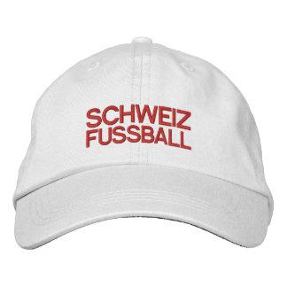 SCHWEIZ FUSSBALL EMBROIDERED BASEBALL HAT
