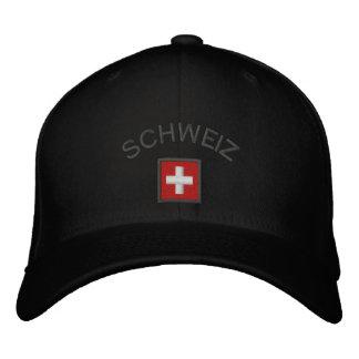 Schweiz Hat - Switzerland Cap With Swiss Flag