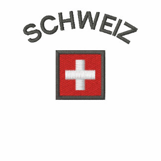 Schweiz Mens Polo With Switzerland Pocket Flag