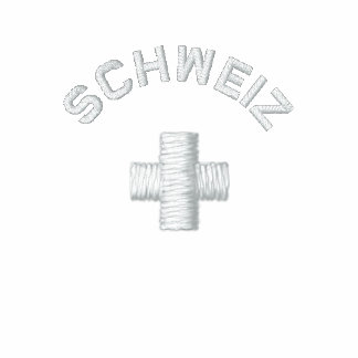 Schweiz - Suiza Camiseta Polo Bordada