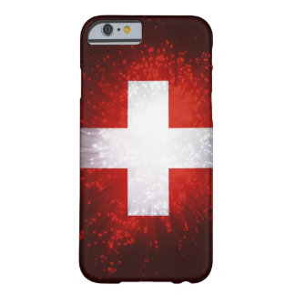 Schweiz; Switzerland Flag Barely There iPhone 6 Case