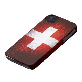 Schweiz; Switzerland Flag iPhone 4 Case