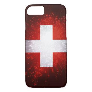 Schweiz; Switzerland Flag iPhone 8/7 Case