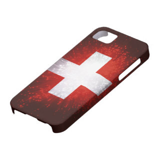 Schweiz; Switzerland Flag iPhone SE/5/5s Case