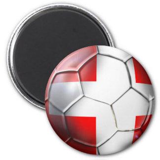 Schweiz Switzerland soccer ball fans gifts Magnets