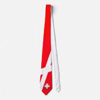 Schweizer Nati - fútbol de Suiza Corbata Personalizada