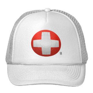 Schweizer Nati - fútbol de Suiza Gorros Bordados