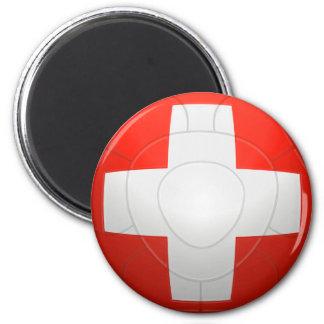 Schweizer Nati - fútbol de Suiza Imán Redondo 5 Cm