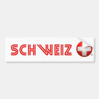 Schweizer Nati - fútbol de Suiza Pegatina Para Auto