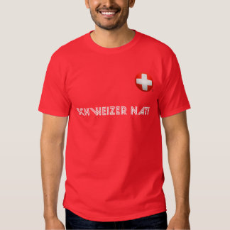 Schweizer Nati - fútbol de Suiza Playeras