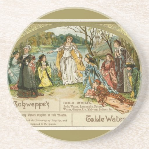 Schweppes Table Waters Drink Coaster