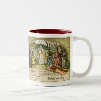 Schweppes Table Waters Two-Tone Coffee Mug