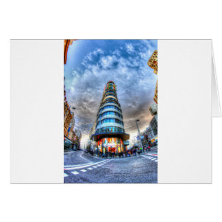 Schweppes Tower Card