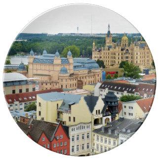 Schwerin, Alemania Platos De Cerámica