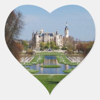 Schwerin castle heart sticker