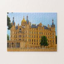 Schwerin Castle Mecklenburg. Jigsaw Puzzle